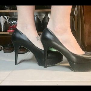 Guess platform high heels